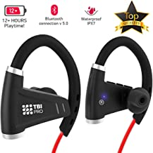 [Upgraded 2020] 12+Hours Sport Bluetooth Headphones -...