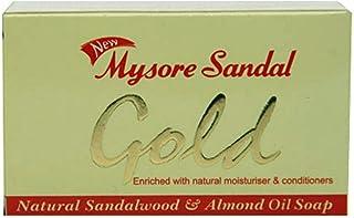 Mysore Sandal Bathing Soap - Gold, 250g Pack