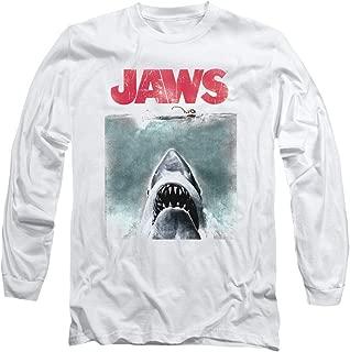 Jaws Shark Movie Poster & Quint Longsleeve T Shirt & Stickers