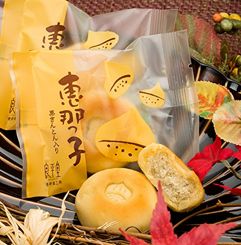 お中元 サマーギフト 敬老の日 御供 和菓子 岐阜 誕生日 プレゼント / 栗きんとん焼き菓子 恵那っ子 (6入箱)