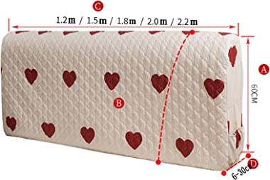 Headboard Cover Home Textiles Modern Elasticity Dust Cover Protection Headboard Skin-Friendly Cotton Headboards Slipcover (Co