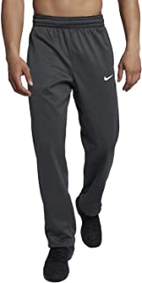 Nike Mens Therma-Fit Elite Basketball Pants Grey/White
