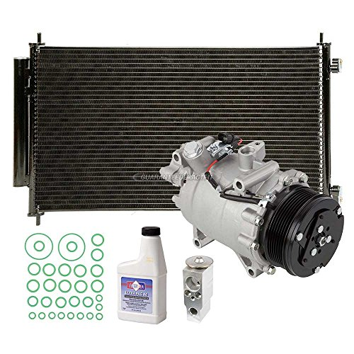 A/C Kit w/AC Compressor Condenser & Drier For Honda CR-V 2007 2008 2009 2010 2011 - BuyAutoParts 60-82560R6 New