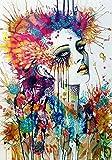Resumen labios de oro chica pintura sobre lienzo. Carteles de arte y grabados en la pared. Pintura decorativa sin marco inspiradora de arte nórdico en el salón A3 40x60cm