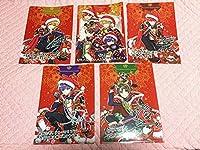 浦島坂田船 A5クリアファイル (ハロウィン&クリスマス)各全5種類 計10点セット ファミマ