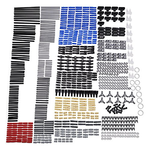 New Technic Series Parts - 882 Pieces Axle Chain Link Connectors Bricks Sets- Compatible with All Major Brands