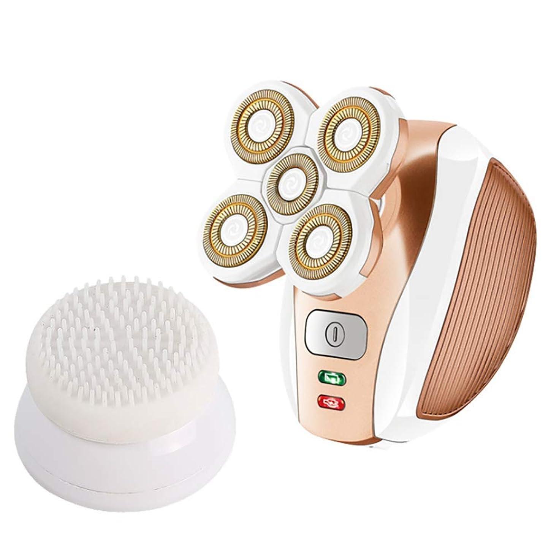 第五歯痛南方の女性の毛の除去剤、毛の取り外しの足の腕の表面のビキニラインのための電気シェーバーの再充電可能なトリマーかみそり