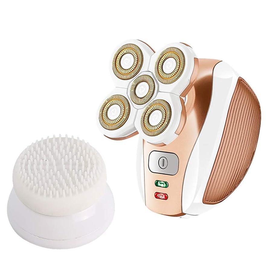 複合航空フルート女性の毛の除去剤、毛の取り外しの足の腕の表面のビキニラインのための電気シェーバーの再充電可能なトリマーかみそり