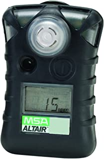 MSA 10071361 ALTAIR Single Gas Detector, Hydrogen Sulfide (H2S), Low Alarm 5 PPM, High Alarm 10 PPM