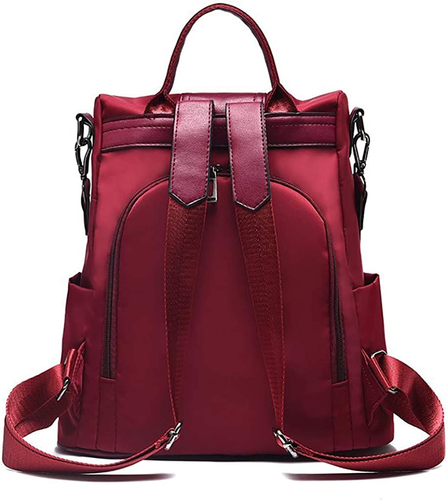 Japan Maker New GuangYuan Bags Seattle Mall Women's Fashion Solid Backpack Anti-Theft B Color