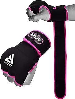 Bandagen Fitness Max5 Gel-Innenhandschuhe Fingerlose Kickboxhandschuhe Workout MMA Muay Thai Faustschutz