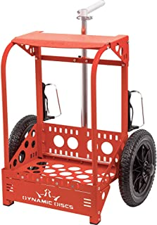 compact zuca disc golf cart
