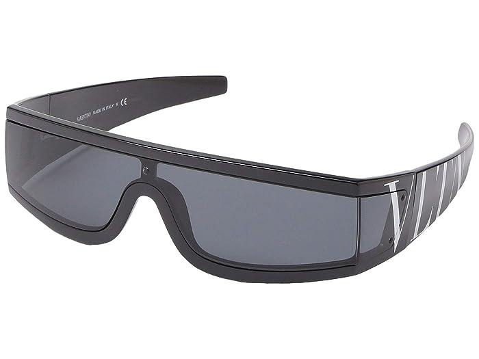 Valentino 0VA4054 (Black/Smoke) Fashion Sunglasses