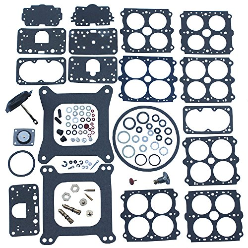 KIPA Carburetor Rebuild Kit For Quick Fuel 3-200 Holley 4160 Vacuum secondary 390 600 750 850 CFM 1850 3310 P/N # 37-119 37-720 37-754 371542 Road Deom JR Road Demon Speed Demon Barry Brant 190003