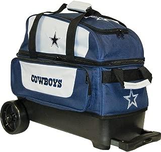 KR Strikeforce Dallas Cowboys Double Roller Bowling Bag, Multicolor