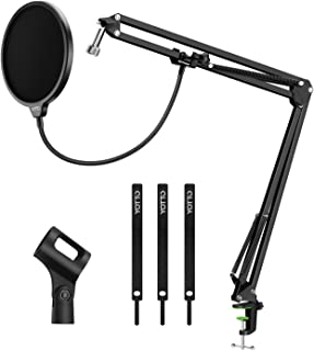 YOTTO Microphone Stand Adjustable Studio Mic Stand...