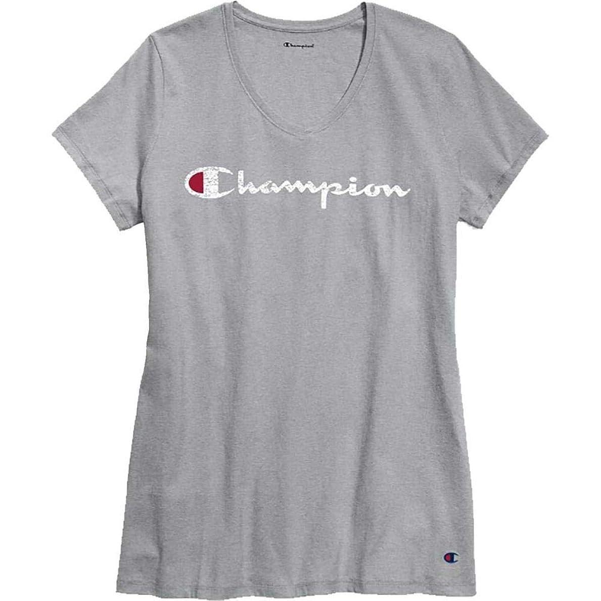 硬さ入射それにもかかわらず(チャンピオン) Champion レディース トップス Tシャツ Plus Jersey Graphic T-Shirt [並行輸入品]