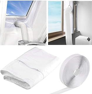 Faburo 400CM Tissu De Calfeutrage De Fenêtres Joint de Fenêtre Kit De Calfeutrage Pour Climatiseurs,Sèche-linge et Déshumi...