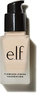 e.l.f, Flawless Finish Foundation, Lightweight, Oil-free formula, Full Coverage, Blends Naturally, Restores Uneven Skin Textures and Tones, Snow, Semi-Matte, SPF 15, All-Day Wear, 0.68 Fl Oz
