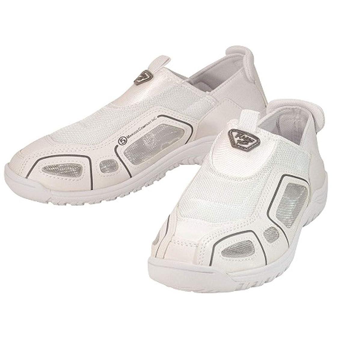 ヘッドレスライラック記念品安全靴 スニーカー クレオスプラス 作業靴 マルゴ 安全シューズ カカトが踏める 先芯なし 白 ホワイト 男性 メンズ 女性 レディース 靴 シューズ