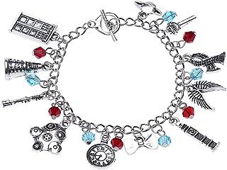 Lureme Vintage Bracelet with Multi Charms Bracelet Best Gift for Movies Fans (bl003116)