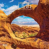 Utah Wild & Scenic 2021 7 x 7 Inch Monthly Mini Wall Calendar, USA United States of America Rocky Mountain State Nature
