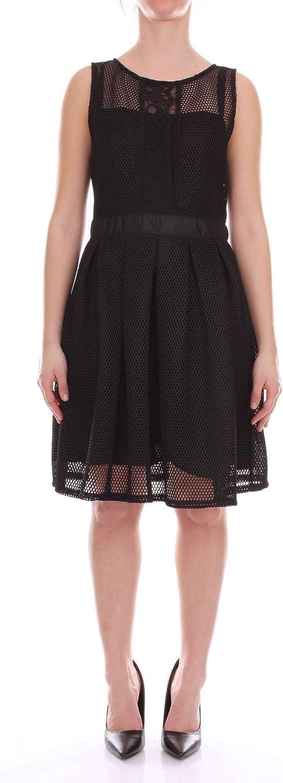 Angeleye Women's VIREOBLACK Black Polyester Dress