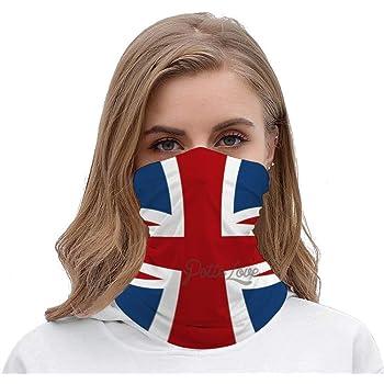 Red white blue fleece scarf union jack neck warmer patriotic flag unisex wrap