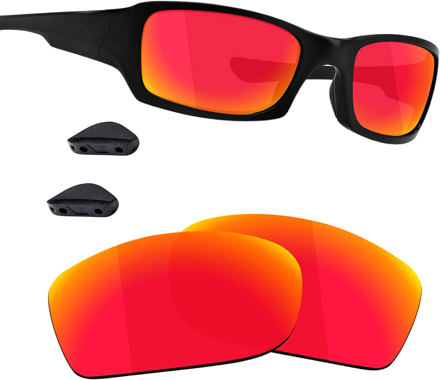 Guarda TRUE POLARIZED Replacement Limited time trial price Lenses Pads Popular standard Oakley for Nose