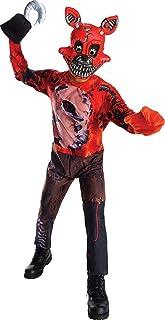 Rubie's Costume Boys Five Nights At Freddy's Nightmare Foxy The Pirate Costume, Medium, Multicolor