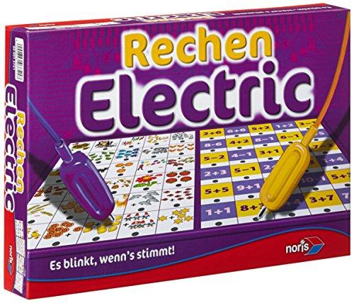 Noris 606013721 606013721-Rechen Electric, Kinderspiel
