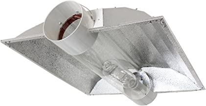 iPower 6 Inch Cool Tube Reflector Hood for HPS MH Grow Light XL Wing