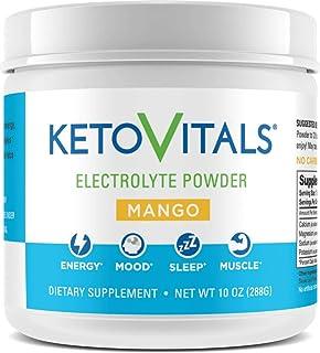 Keto Vitals Electrolyte Powder | Keto Friendly Electrolytes with Potassium, Magnesium, Sodium & Calcium | Keto Electrolyte...
