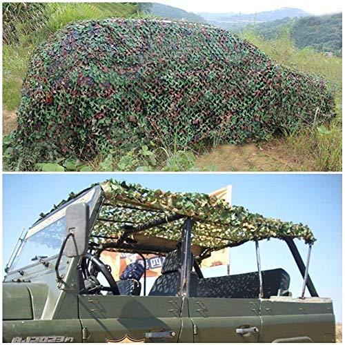 Camo net Camouflage Net 3x3m, Army Camo Netting For Camping Hunting Shooting Sunscreen Mesh Garden Awning Terrace Sunshade Military Net 4x5m 6x6m 6x8m 10m Shade net (Size : 2 * 4m (6 * 13ft))