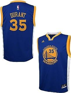 adidas Kevin Durant Golden State Warriors Azul Juventud réplica Jersey