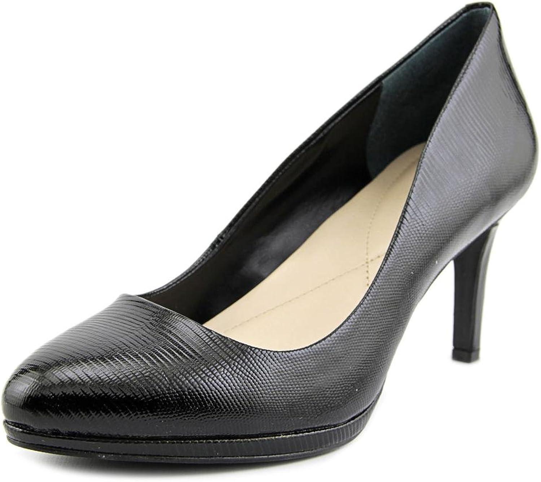 Alfani Womens Glorria Closed Toe Classic Pumps, Black Patent, Size 7.0