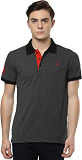 AMERICAN CREW Men's Polo Collar Half Sleeve T-Shirt