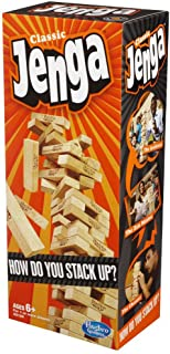 Hasbro Jenga Classic | Block Stacking Game for 1 or More Players