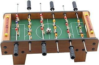 جدول كرة القدم Multiplayer Foosball Games, Portable Mini Family Wooden Soccer Table Game, Table Football Game For Children...