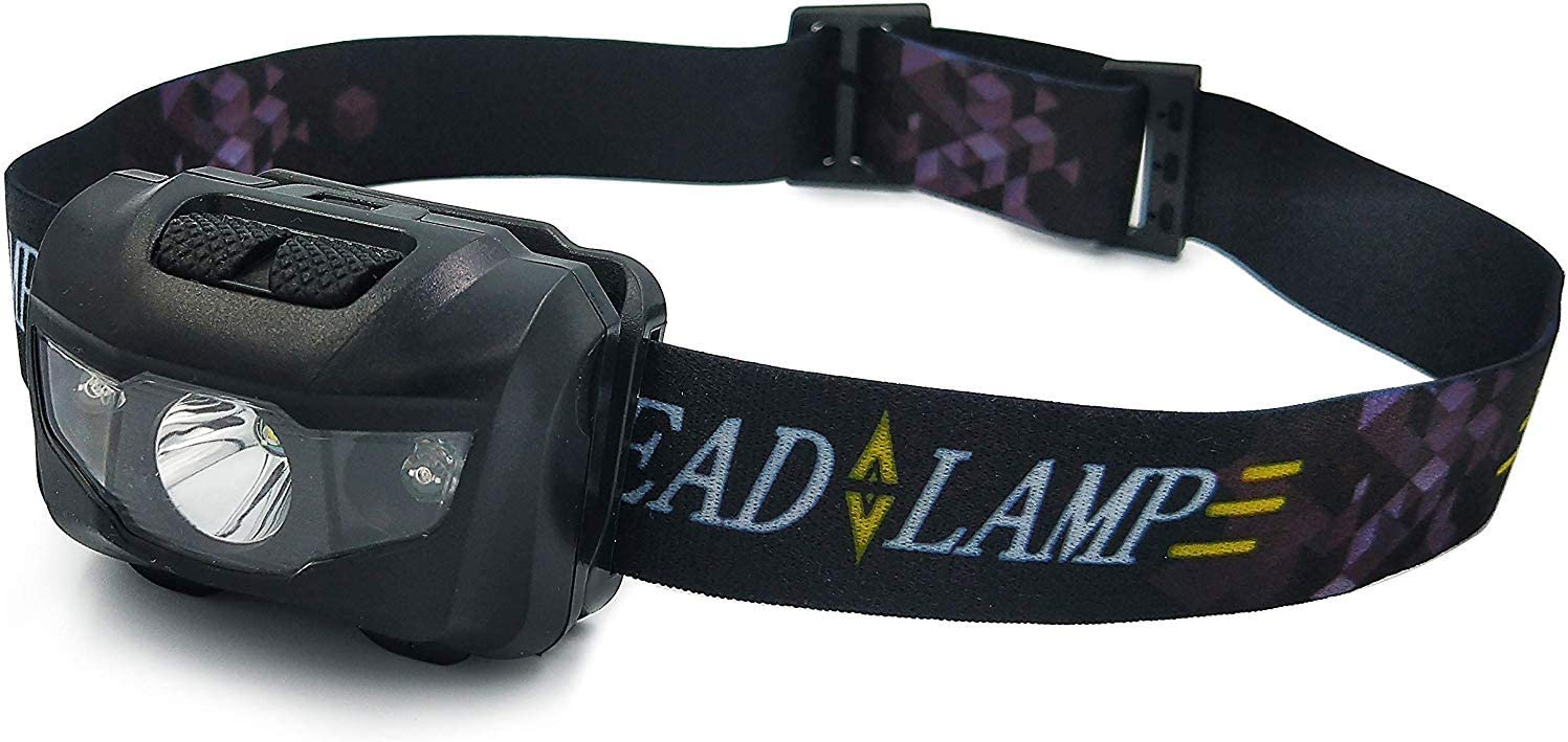 FRUN 1PC 3AAA Lightweight Headlamp - Running, Camping, and Outdo
