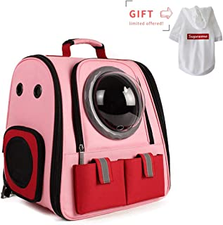 Lollimeow Pet Carrier Backpack, Cat Bubble Backpack, Dog Carrier Bag for Small Dogs and Puppies, Airline-Approved