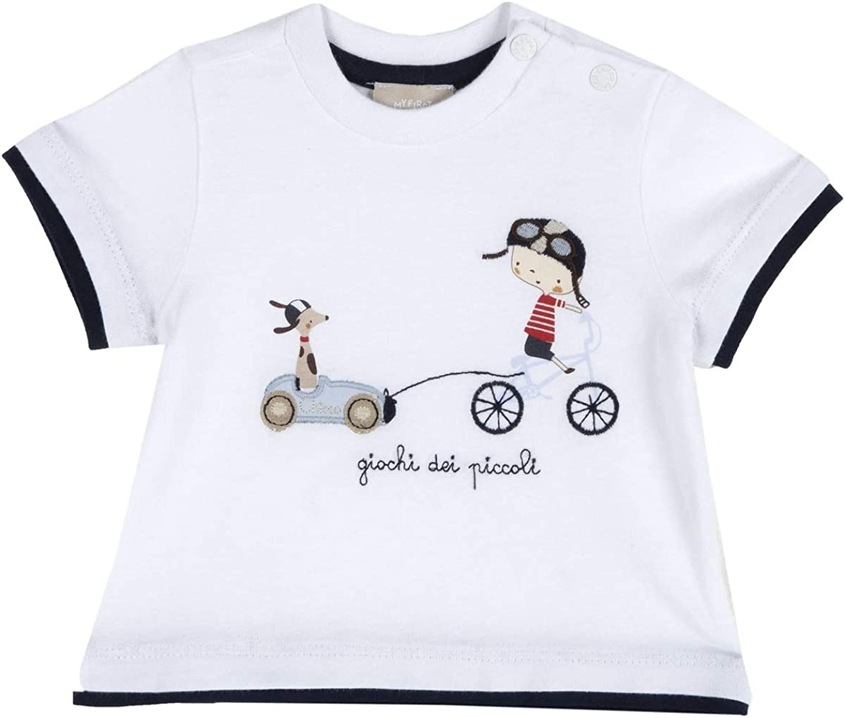 Chicco A Manica Corta T-Shirt Manches Courtes B/éb/é gar/çon