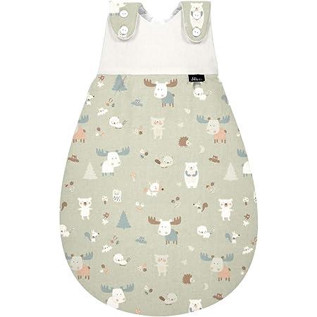Alvi Baby M/äxchen Au/ßensack Exclusiv I Baby-Schlafsack mitwachsend /& atmungsaktiv I Kinderschlafsack waschbar I leichter Schlafsack