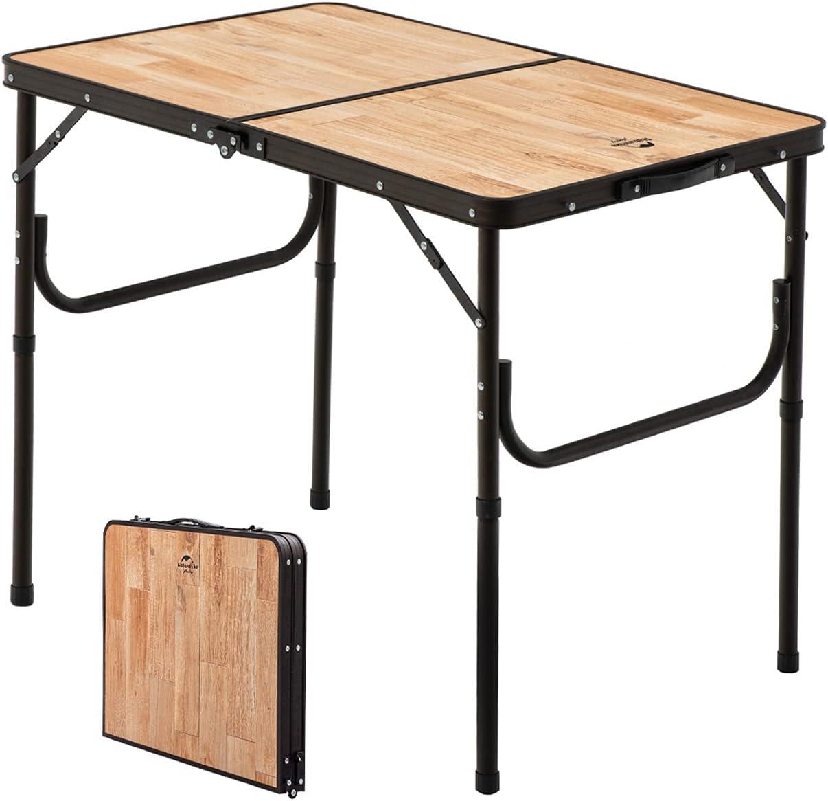 Naturehike Folding Table Portable Height Lig Adjustable Super-cheap Aluminum Max 71% OFF