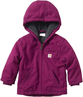 Carhartt Baby Girls Sherpa Lined Jacket Coat