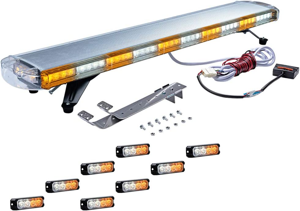 Multi Function Amber White Warning inch Emergency 47 88- Caution safety Directly managed store