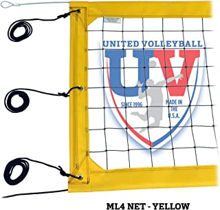 "United Volleyball Supply ML4:4"" Pro Beach Volleyball Net"