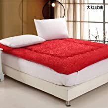 Tatami Mattress, Foldable Futon Mattress, Student Dormitory Single Floor Mat Pad, Thicken Protect The Spine, 6 cm Thicknes...