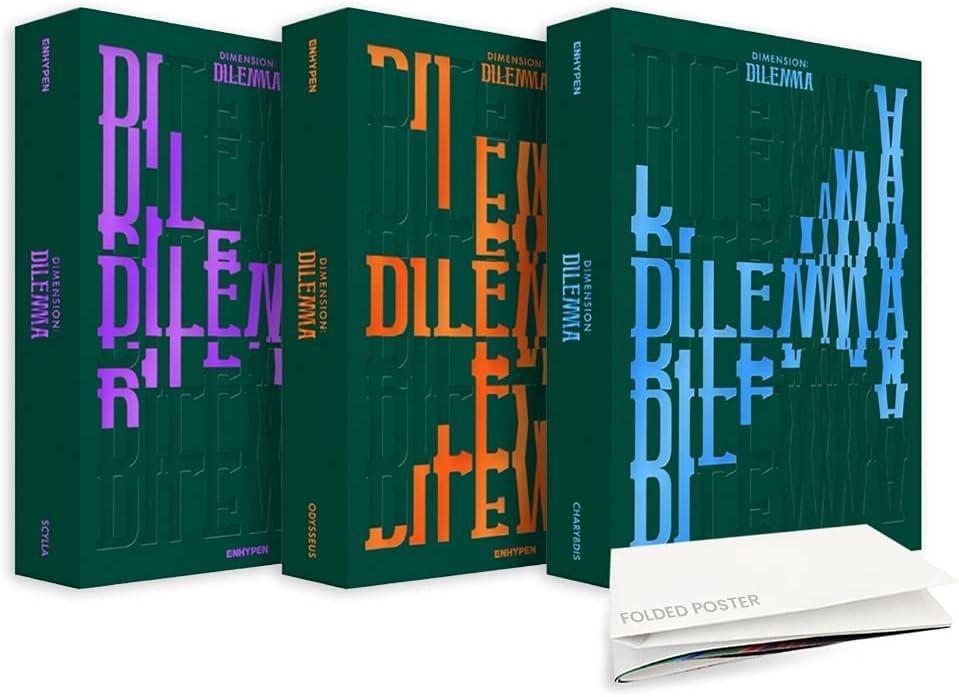 ENHYPEN DIMENSION price DILEMMA 1st Studio Set Three Versio All Album Max 83% OFF