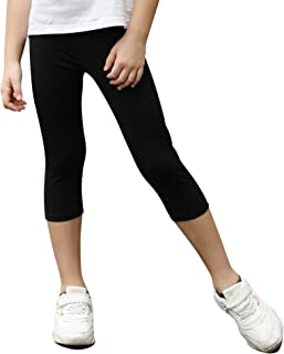 STELLE Girls Active Capri Legging Yoga Pants for Workout Sport Running